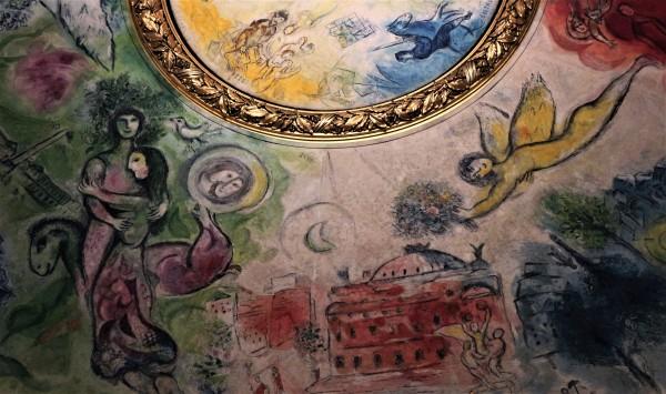 Marc Chagall, Opéra Garnier, Teatro dell'Opera di Parigi.
